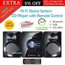 Stereo CD Player MP3 FM Radio Micro HiFi System Bluetooth USB DVD Compact Audio