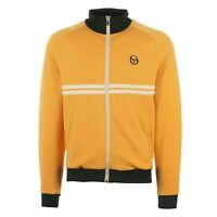 Sergio Tacchini Mens Dallas Track Top Zip Up Sweatshirt Mustard 37570 451