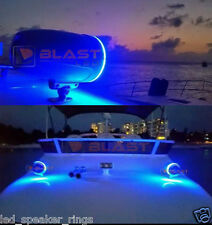 2pc LED TOWER Speaker Rings for JL Audio Marine 7.7 M770 MX770