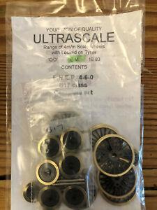 Ultrascale EM Gauge Complete Wheel Set (NS) for LNER 4-6-0 B17 Factory Sealed