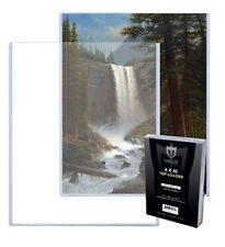 25 Max Pro 8 x 10 Hard Premium Rigid Topload Photo Holders 8x10 toploaders