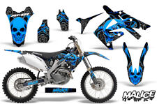 Honda CRF250R Dirt Bike Decal Wrap Number Plate MX Graphic Kit 04-09 MALICE BLUE