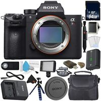 Sony Alpha a7R III 42.4MP Full Frame Mirrorless Camera Deluxe Bundle