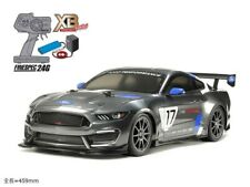TAMIYA 1/10 XB Ford Mustang GT4 TT-02 Chassis RC Drive Set Finished Model 57918