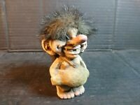 VINTAGE TROLL NORWAY NORWEGIAN FIGURE HAND MADE NYFORM ORIGINAL 4 Inch 1980's
