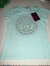 Versace Young  T- Shirt   Medusa Metal  size 6 Anni