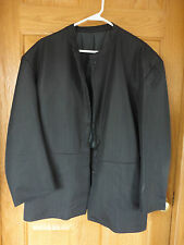 "Authentic Amish Mens/Youth Large Black Jacket, pants 29"" inseam,waist 31"" & vest"
