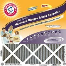 20x25x1 Arm and Hammer Max Odor Air Filter (4 Pack)