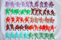 Battle Fantasy Plastic Toy Soldiers, 51 Figures, Soft Plastic, 54mm, Russia, New