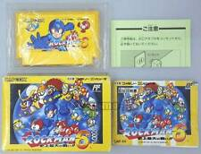 """FAMICOM NES FC""""ROCKMAN 6""""MEGAMAN CAPCOM BOXED JAPAN-2"""