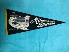 1950 MILWAUKEE BRAVES FULL SIZE PENNANT