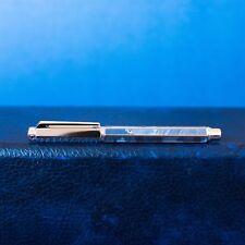 MINT Caran D'Ache Varius Silas Limited Edition Silver Plated Fountain Pen F Nib