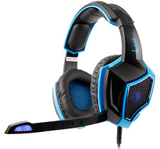 SADES LUNA SA-968 7.1 channel PC Gaming Headset Headphones Noise Cancel Mic