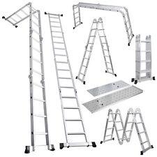 Multi Function Folding Ladder with Platform (3.56m) - GorillaSpoke for Great DIY