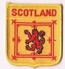 ORGINAL Scotland Aufnäher Aufbügler 6x7,5cm Fanartikel NEU
