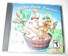 Trailer Park Tycoon PC, 2002 Economic, Simulation, T - Teen Free Shipping U.S.A.