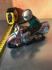 MOTOCICLETTA IN LATTA TIN TOY MADE IN CHINA VERY OLD STYLE