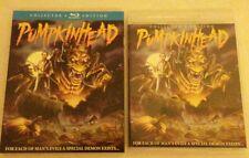 Pumpkinhead Blu-ray Collector's Edition SCREAM Slipcover & Transparent BD Case
