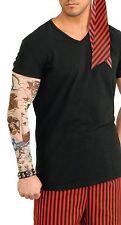pour hommes femmes pirate tatouage Manche Costume déguisement accessoire