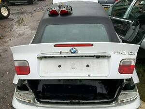 BMW 3 E46 Convertible 2000-2007 Boot Lid Silver.