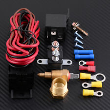 175 185 Degree Engine Cooling Fan Thermostat Temperature Switch Sensor Relay Kit