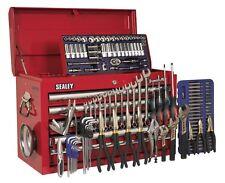 Topchest 5 tiroirs avec glissières roulement à billes-Rouge & 138pc tool kit ap33059combo