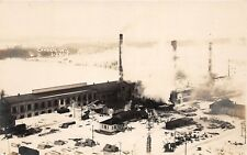 D87/ Cornell Wisconsin Wi Real Photo RPPC Postcard c1915 Factory Paper Mill?