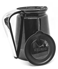 Keurig 2.0 Replacement Coffee Carafe 32oz * Black with Chrome Silver Handle