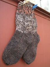 SUPERB WOOL SOCKS HandKnitted  natural SHEEP yarn  Russian craft very thick