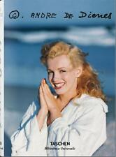 ANDRE DE DIENES ~ MARILYN MONROE TASCHEN ~ PROFUSELY ILLUS ~ BRAND NEW SEALED HC
