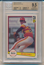 1982 Donruss Nolan Ryan (HOF) (#419) (Subs 3-9.5's/1-9) BGS9.5 BGS