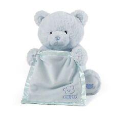 """Baby Gund - My First Teddy Peek A Boo Bear - Blue - 11.5"""""""