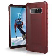 Case UAG Plyo for Samsung Galaxy Note 8 - Crimson, red