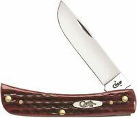 Case XX Sod Buster Jr Old Red Bone Stainless Steel Folding Pocket Knife 10304