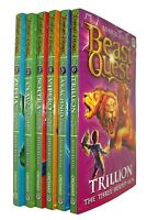 Beast Quest Series 2 Golden Armour 6 Books  Adam Blade Boys Adventure Fun New
