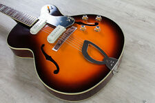 Guild X-175 Manhattan Hollowbody Archtop Electric Guitar RW Board Antique Burst