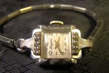Pretty Ladies Girard Perregaux 17 Jewel Watch Parts Repair