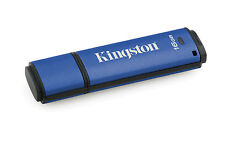 Kingston 16gb Data Traveler AES Encrypted Vault Privacy 256bit USB 3.0 Flash Dri