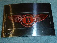 Sammelsticker Nr. 33 Bild Sticker Auto 2000 Bentley Emblem Glitzer Panini 1985