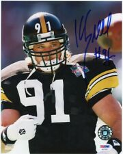 Kevin Greene Autographed Pittsburgh Steelers 8x10 Photo - PSA/DNA COA (B)