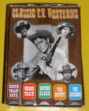 Five Classic TV Westerns 1998 Classic B&W 5 Hours VHS Video Set Great Set See!