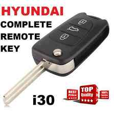 Brand new Hyundai transponder remote completed Flip key For I30 434mhz -  ID46
