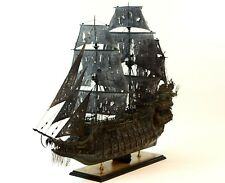 "Flying Dutchman Tall Ship Handmade Wooden Ship Model 46"" Museum Quality"