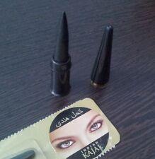 2 X Dark Black Eyeliner Kajal Kohl Waterproof Look for Beautiful Eyes Eye Liner