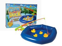 Hook A Duck Inflatable Pool & Rod Game Childrens Fete & Fair Party Toy 16-7006