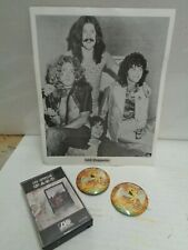 Led Zeppelin lot of 4 items , 2 buttons June 1977 concert Msg Nyc Wplj Vintage
