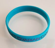 """BRAND NEW """"TARGET OVARIAN CANCER"""" ONE SIZE WRISTBAND (SAME DAY DSPCH FREE POST!)"""