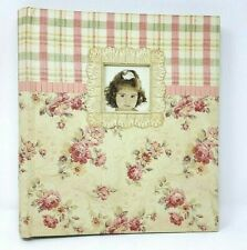 Photo Album Holds 300 4 x 6 Photos Pink Floral