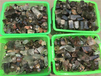 1lb Wholesale Natural chlorite ghost phantom quartz rock point healing 5-8pcs