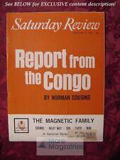 Saturday Review February 3 1962 NORMAN COUSINS CONGO THOMAS GOLD SHIRLEY THOMAS
